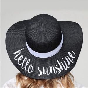 """Hello Sunshine"" Hat"